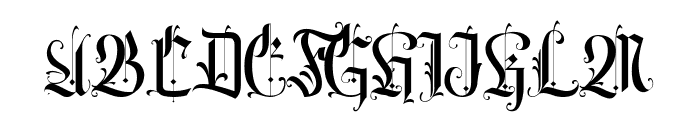 Volantis Regular Font UPPERCASE