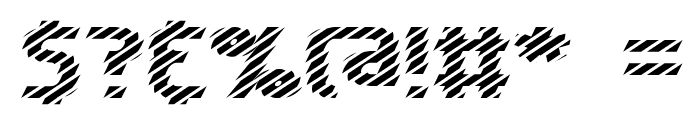 Volatile 1 BRK Font OTHER CHARS