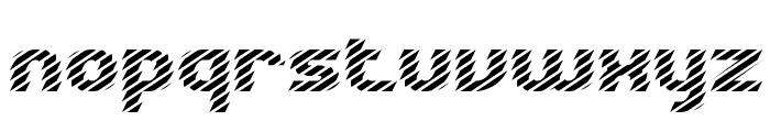 Volatile 1 BRK Font LOWERCASE
