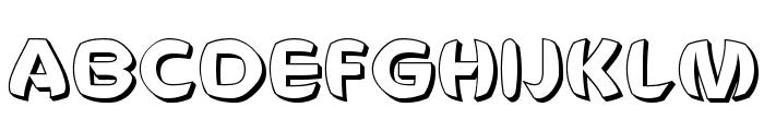 Voldemort Unleashed Font UPPERCASE