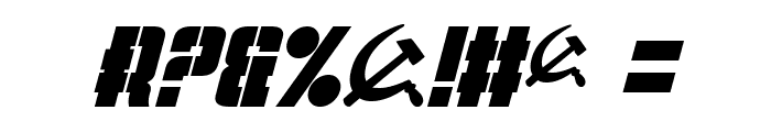 Volkoff Italic Font OTHER CHARS