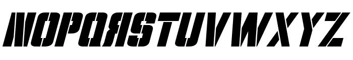 Volkoff Italic Font UPPERCASE