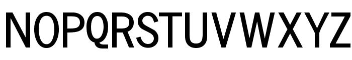 Vollkegel-Typewriter Font UPPERCASE