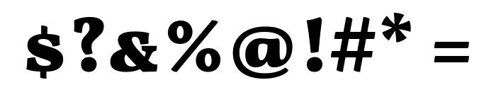Vollkorn SC Black Font OTHER CHARS