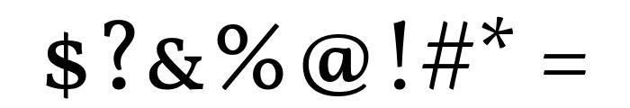 Vollkorn SC Regular Font OTHER CHARS