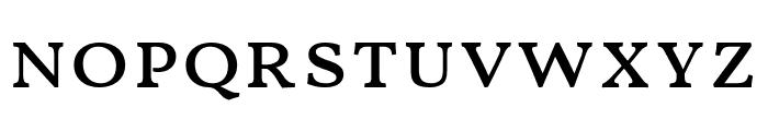 Vollkorn SC Regular Font LOWERCASE