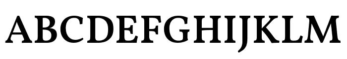 Vollkorn SC SemiBold Font UPPERCASE