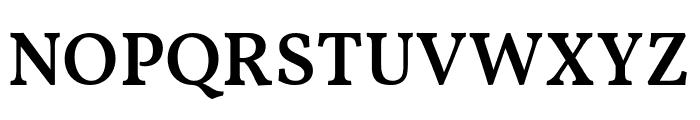 Vollkorn SemiBold Font UPPERCASE