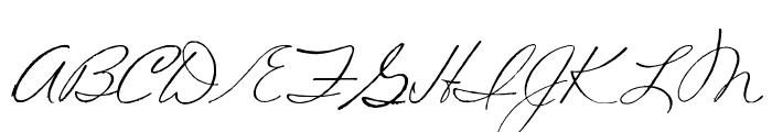 Volstead Font UPPERCASE