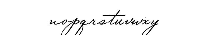 Volstead Font LOWERCASE