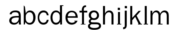 Volt Font LOWERCASE