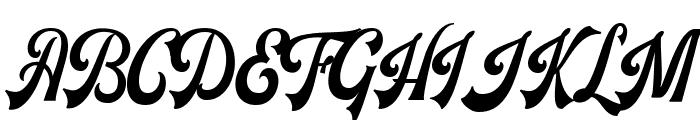Voltury Font UPPERCASE