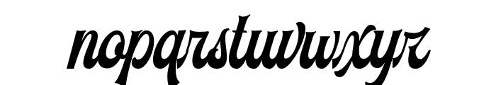 Voltury Font LOWERCASE