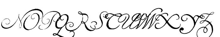 Volutes Font UPPERCASE