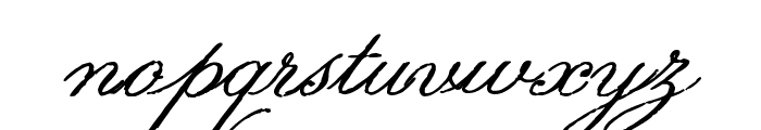 Volutes Font LOWERCASE