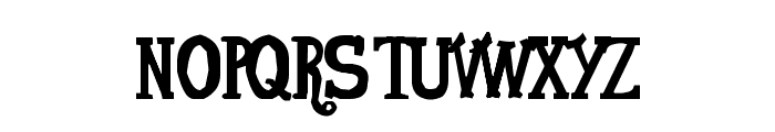 VonFont Font UPPERCASE