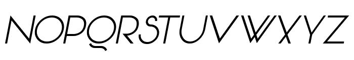 Vonique 64 Italic Font UPPERCASE