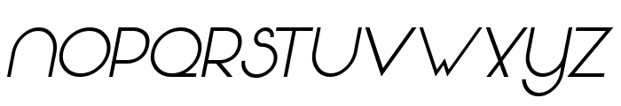 Vonique 64 Italic Font LOWERCASE