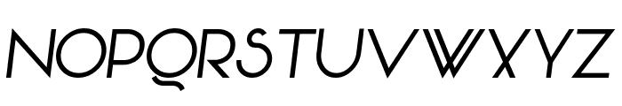 Vonique 92 Italic Font UPPERCASE