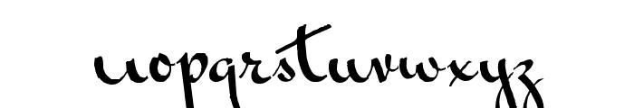 Vonnegut Font LOWERCASE