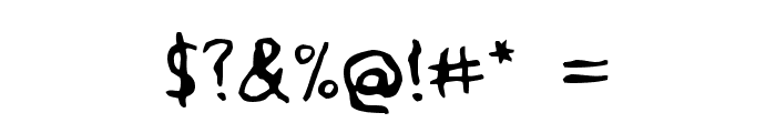 Voodoo Spirits Font OTHER CHARS