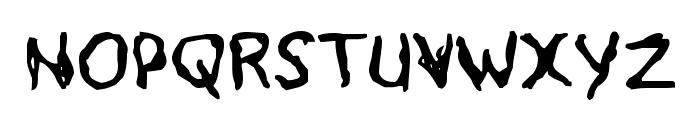 Voodoo Spirits Font UPPERCASE