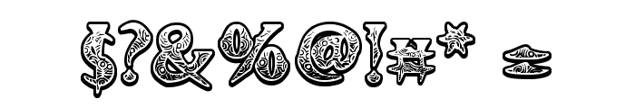 Voodoo Vampire Font OTHER CHARS