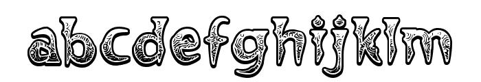 Voodoo Vampire Font LOWERCASE