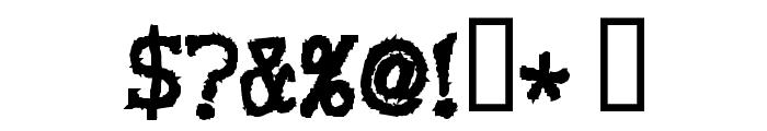 VoodooDollLetters Font OTHER CHARS