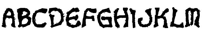 VoodooDollLetters Font LOWERCASE