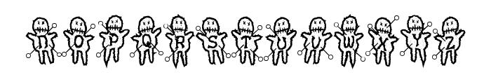 VoodooDollsPinned Font UPPERCASE