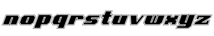 Voortrekker Pro Italic Font LOWERCASE