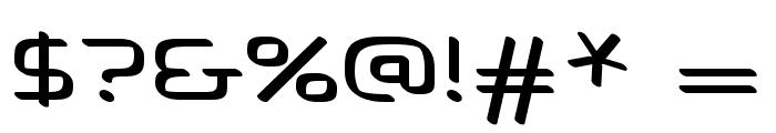 Voras Font OTHER CHARS