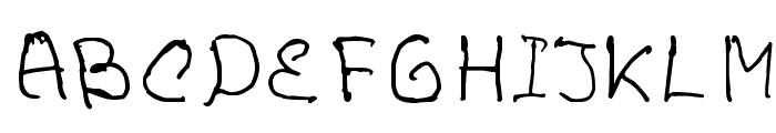VoronovFont Font UPPERCASE