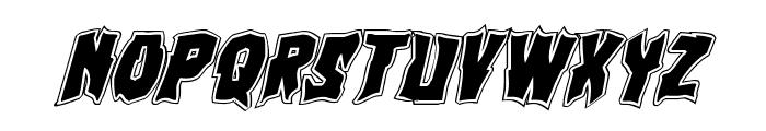 Vorvolaka Academy Italic Font LOWERCASE
