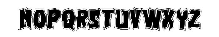 Vorvolaka Academy Regular Font LOWERCASE