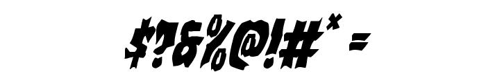 Vorvolaka Condensed Italic Font OTHER CHARS