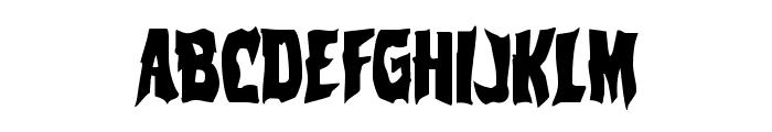 Vorvolaka Condensed Font LOWERCASE