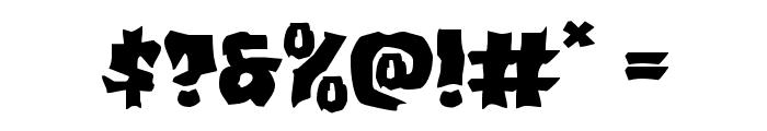 Vorvolaka Expanded Font OTHER CHARS