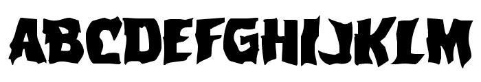 Vorvolaka Expanded Font UPPERCASE