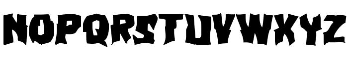 Vorvolaka Expanded Font LOWERCASE