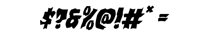 Vorvolaka Italic Font OTHER CHARS