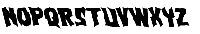 Vorvolaka Leftalic Font UPPERCASE