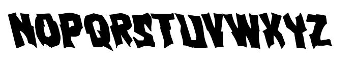 Vorvolaka Leftalic Font LOWERCASE