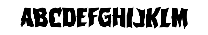 Vorvolaka Regular Font UPPERCASE