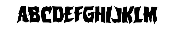 Vorvolaka Regular Font LOWERCASE