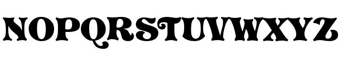 Vostrey Font UPPERCASE
