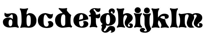 Vostrey Font LOWERCASE