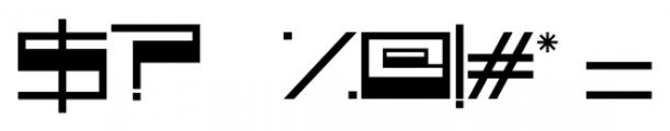 Voker Regular Font OTHER CHARS