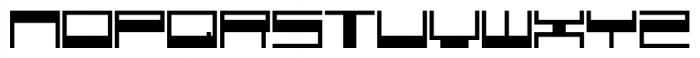 Voker Regular Font LOWERCASE